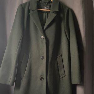 Wool Blend Blazer Coat